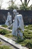Het Koreaanse Gedenkteken van de Oorlog Royalty-vrije Stock Foto