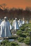 Het Koreaanse Gedenkteken van de Oorlog Royalty-vrije Stock Foto's