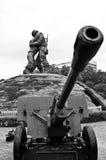 Het Koreaanse gedenkteken van de Oorlog, Seoel Stock Afbeelding