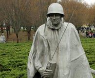 Het Koreaanse Gedenkteken van de Veteranen van de Oorlog Royalty-vrije Stock Foto's