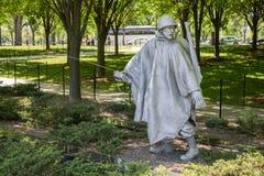 Het Koreaanse Gedenkteken van de Veteranen van de Oorlog Stock Fotografie