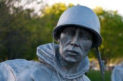 Het Koreaanse gedenkteken van oorlogsveteranen Royalty-vrije Stock Foto's