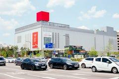 Het Koreaanse grote warenhuis van winkelcomplexlotte Stock Foto