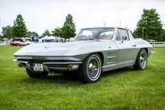 Het Korvet Sting Ray Coupe van sportwagenchevrolet Stock Fotografie