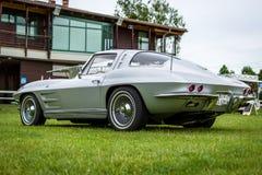 Het Korvet Sting Ray Coupe van sportwagenchevrolet Stock Foto