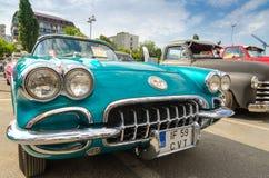 Het Korvet 1959 van Chevrolet Royalty-vrije Stock Afbeelding