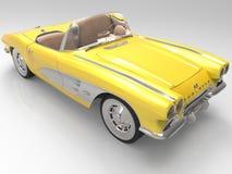 Het Korvet 1958 van Chevrolet Stock Foto
