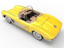 Het Korvet 1958 van Chevrolet Royalty-vrije Stock Afbeelding