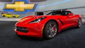 Het Korvet 2014 van Chevrolet (Chevy) Royalty-vrije Stock Afbeeldingen