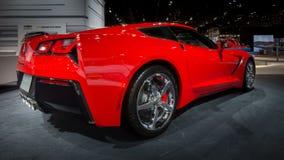 Het Korvet 2014 van Chevrolet (Chevy) Royalty-vrije Stock Foto's