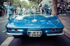 Het Korvet van sportwagenchevrolet C1 Royalty-vrije Stock Foto