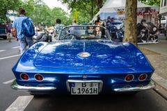 Het Korvet van sportwagenchevrolet C1 Royalty-vrije Stock Foto's