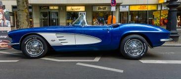 Het Korvet &#x28 van sportwagenchevrolet; C1) Stock Foto