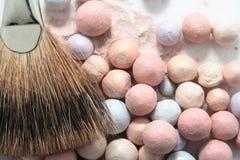 Het kosmetische poeder van de schoonheid Royalty-vrije Stock Foto