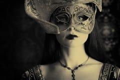 Het kostuum van Carnaval Stock Fotografie