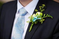 Het kostuum van de bruidegom royalty-vrije stock foto's