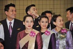 Het kostuum van de het meisjesslijtage van Thailand van Thailand Stock Foto's