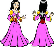 Het Kostuum van de prinses Royalty-vrije Stock Foto