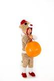 Het Kostuum van Halloween van de sokaap Stock Afbeelding