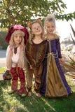 Het kostuum van meisjes Stock Foto