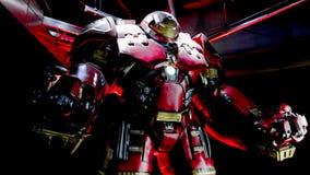 Het kostuum van rompbuster iron man stock fotografie