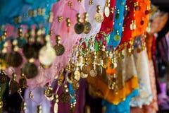 Het kostuumdetails van de buikdans Royalty-vrije Stock Fotografie