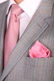 Het kostuumstropdas van omslagen royalty-vrije stock foto