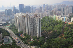 Het Kowloonoosten, Hong Kong 2016 Royalty-vrije Stock Fotografie