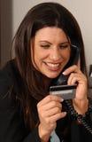 Het Krediet van de consument stock foto