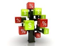 Het kredietboom van het geld Royalty-vrije Stock Afbeeldingen