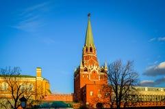 Het Kremlin in de toren van Rusland het Kremlin Royalty-vrije Stock Foto's