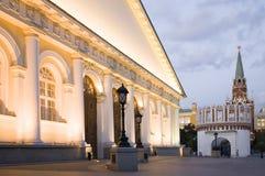 Het Kremlin en manege royalty-vrije stock foto's