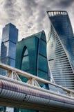 Het Kremlin Het centrum van zaken in Rusland Geleiding van financiële transacties MOSKOU RUSLAND Royalty-vrije Stock Foto