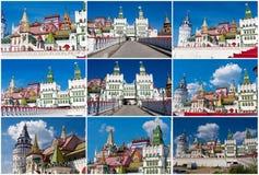 Het Kremlin in Izmailovo royalty-vrije stock afbeeldingen