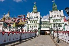 Het Kremlin in Izmailovo stock foto