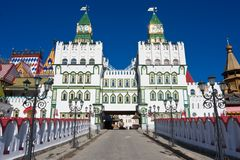 Het Kremlin in Izmailovo royalty-vrije stock afbeelding