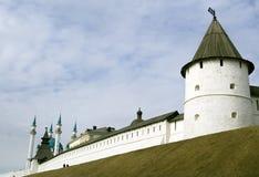 Het Kremlin in kazan stad Royalty-vrije Stock Foto's