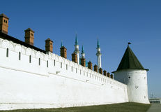 Het Kremlin in kazan stad, Rusland Stock Fotografie