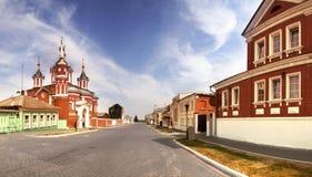Het Kremlin in Kolomna royalty-vrije stock foto