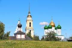 Het Kremlin in Kolomna, het gebied van Moskou, Rusland Royalty-vrije Stock Foto's