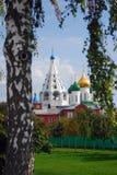 Het Kremlin in Kolomna, Rusland royalty-vrije stock fotografie
