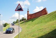 Het Kremlin in Kolomna, Rusland Stock Afbeeldingen