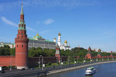 Het Kremlin, Moskou. Royalty-vrije Stock Afbeelding
