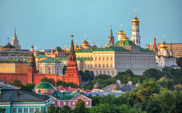 Het Kremlin - Moskou, Rood Vierkant royalty-vrije stock afbeelding