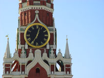 Het Kremlin in Moskou, Rusland Royalty-vrije Stock Afbeelding