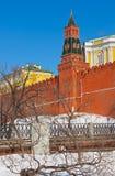 Het Kremlin in Moskou (Rusland) royalty-vrije stock foto's