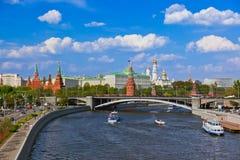 Het Kremlin - Moskou Rusland stock afbeelding