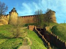 Het Kremlin in Nizhny Novgorod Royalty-vrije Stock Afbeelding