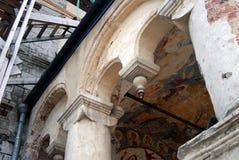 Het Kremlin in Rostov, Rusland Het oude godsdienstige schilderen Royalty-vrije Stock Foto's