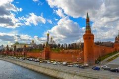 Het Kremlin in Rusland Stock Afbeeldingen